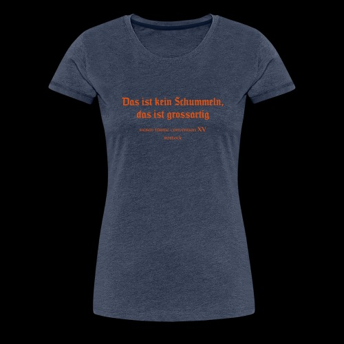 Siebentürme Convention XV - Frauen Premium T-Shirt