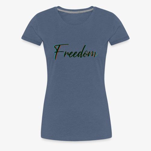 freedom - Maglietta Premium da donna