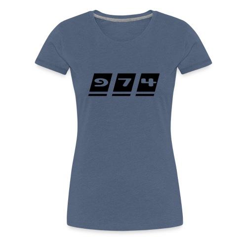 Ecriture 974 - T-shirt Premium Femme
