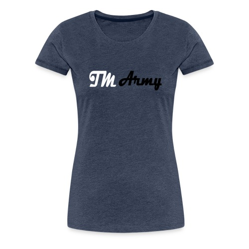 Hoodie - TM army - Dame premium T-shirt