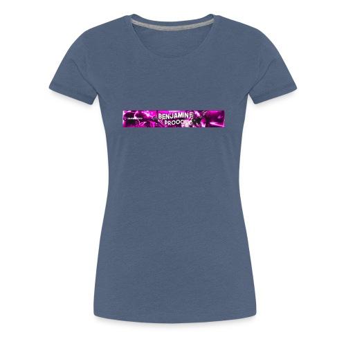 Baner del canal - Camiseta premium mujer