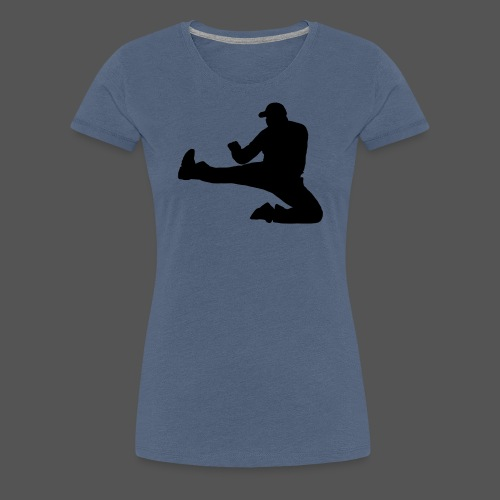 Flykick by canography - Frauen Premium T-Shirt
