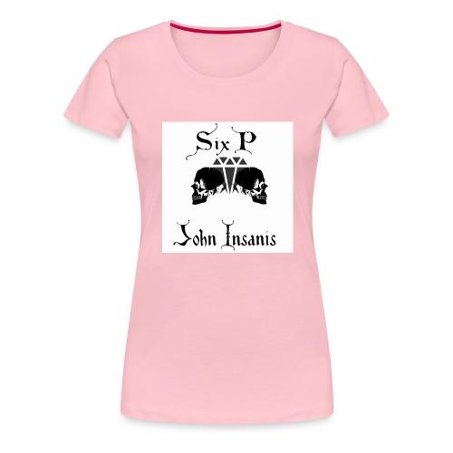 Six P & John Insanis New T-Paita - Naisten premium t-paita