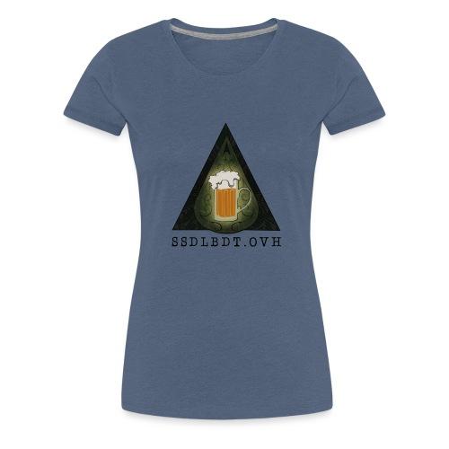 SOCIÉTÉ SECRÈTE DE LA BIÈRE DE TURGOT - T-shirt Premium Femme