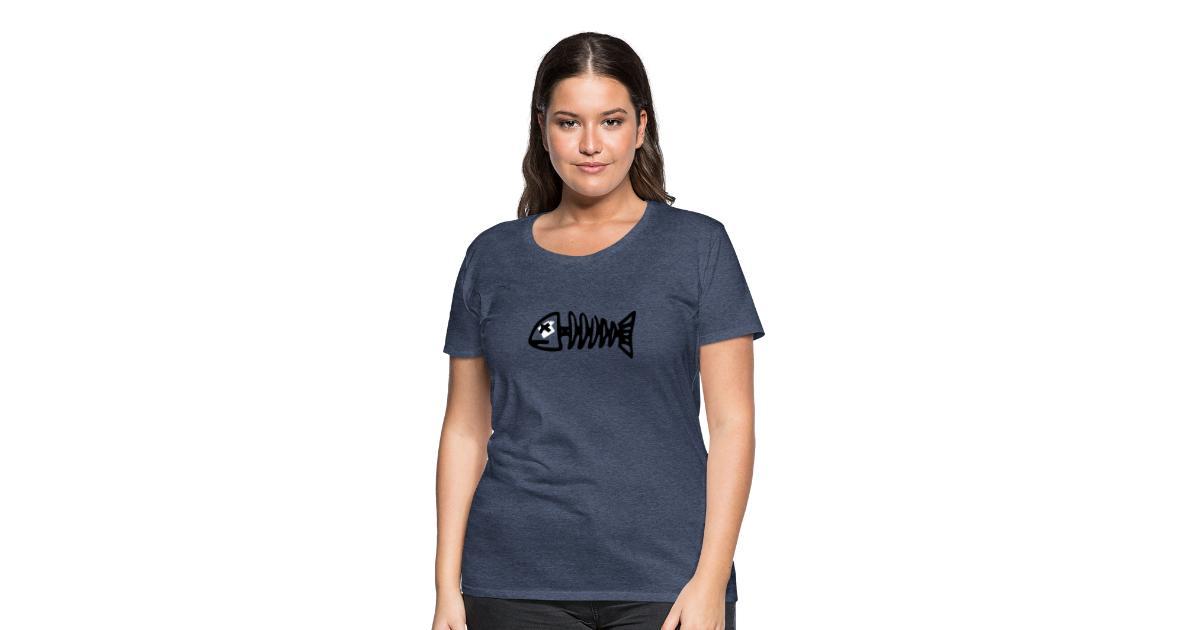 pretty nice 9faa6 a53d5 T-Shirt XXL bedrucken   T-Shirt selbst gestalten sehr billig Gräten -  Frauen Premium T-Shirt