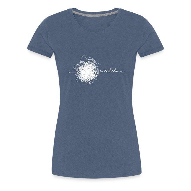 Vorschau: mei lebm - Frauen Premium T-Shirt