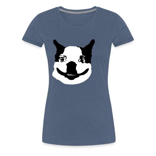 Lennu - Mustavalkoinen - Naisten premium t-paita