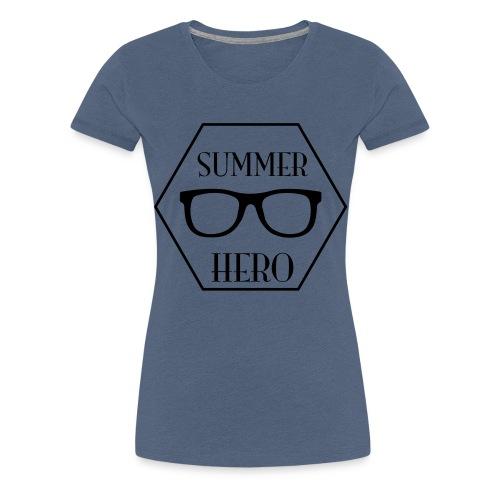summer hero - Vrouwen Premium T-shirt