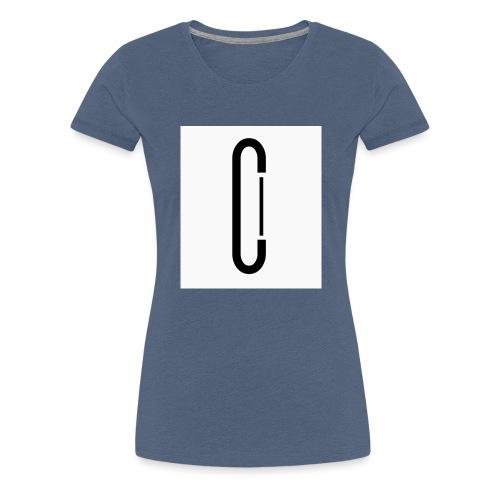 Cw0 Official Logo Slipper Black White - Women's Premium T-Shirt