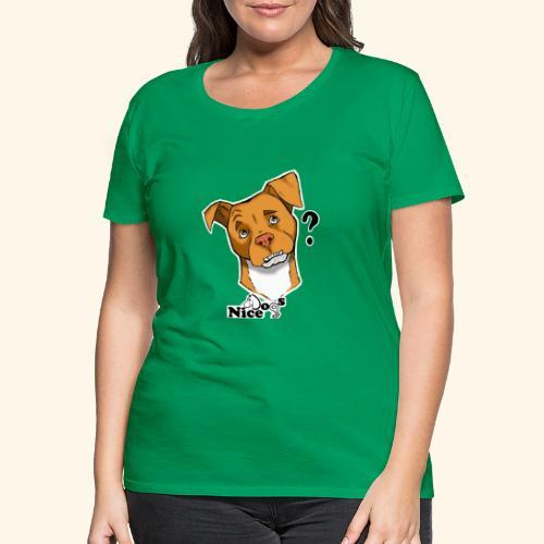Nice Dogs pitbull 2 - Maglietta Premium da donna