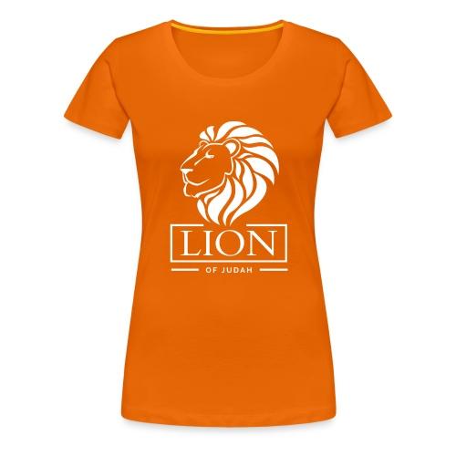 Lion of Judah - Rastafari - Frauen Premium T-Shirt