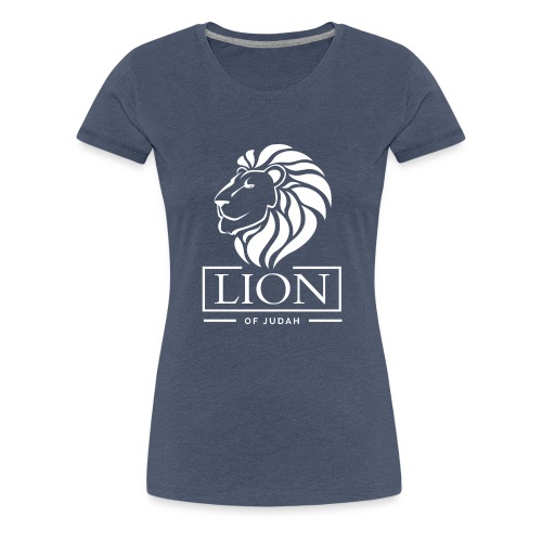 Lion of Judah - Rastafari - Frauen Premium T-Shirt