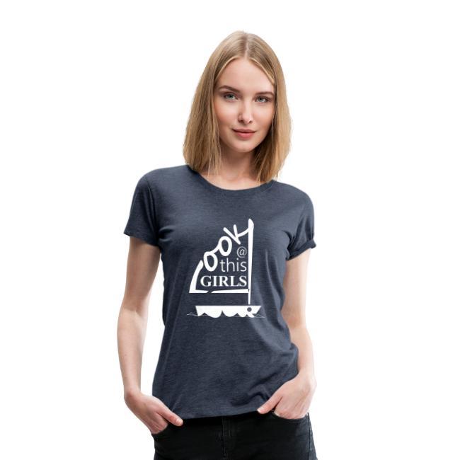 AndriesBik look thisGIRLS shirt witteletters