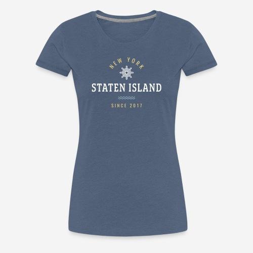 NWE YORK - STATEN ISLAND - Maglietta Premium da donna