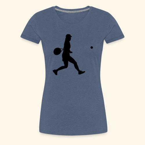 tennis woman 2 - T-shirt Premium Femme