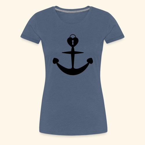 love loyalty faith hope - Frauen Premium T-Shirt