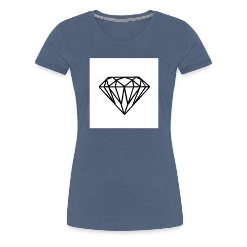 Diamante - Maglietta Premium da donna
