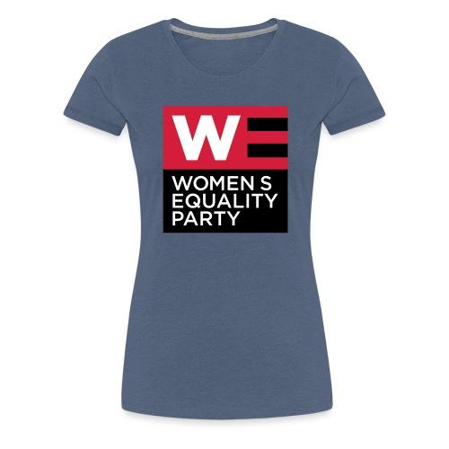 WE_LOGO_RED_CMYK - Women's Premium T-Shirt