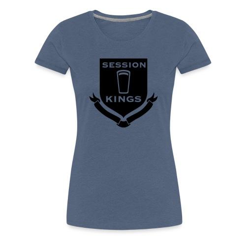 session-king-small - Women's Premium T-Shirt