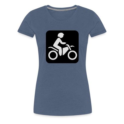 motorcycle - Naisten premium t-paita