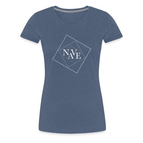 Logo Nave 3D White - Maglietta Premium da donna