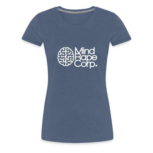 MindRape Corp Snapback Hat Black-Gray - Women's Premium T-Shirt