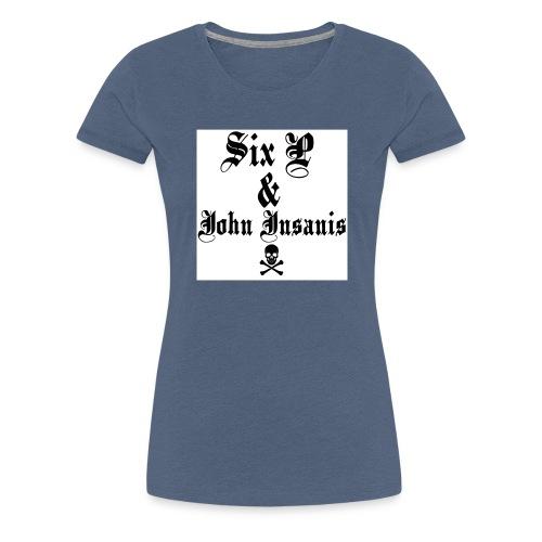 Miesten tankki- SKull - Naisten premium t-paita