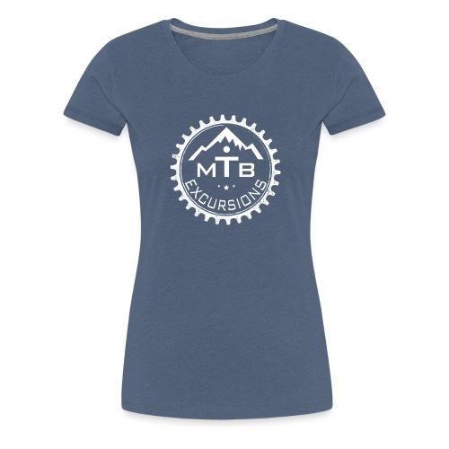 MTB Excursions TEAM - Maglietta Premium da donna