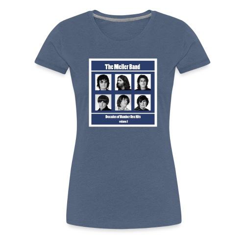 The Meller Band Brikker - Premium T-skjorte for kvinner