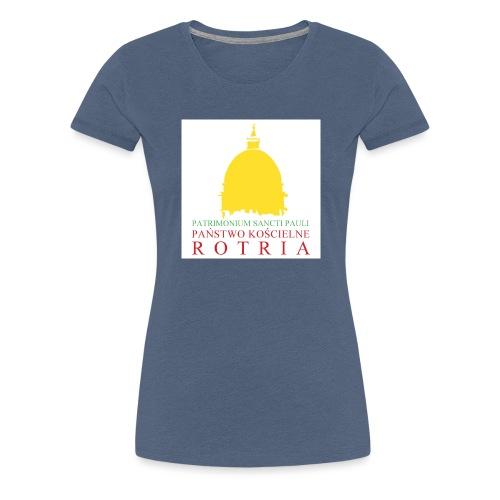 Koszulka z logo PKR - Koszulka damska Premium