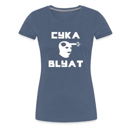 CYKA_BLYAT-png - Women's Premium T-Shirt