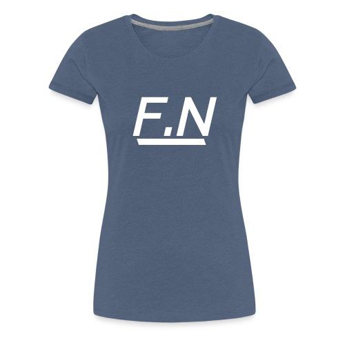 F.N Logo (Zwart-Shirt) Mannen - Vrouwen Premium T-shirt