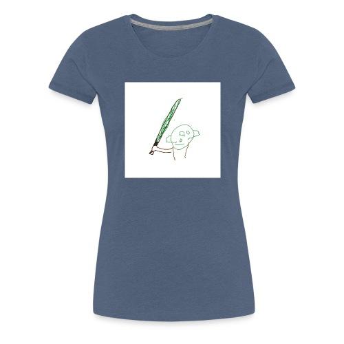 Algot ritar! - Premium-T-shirt dam