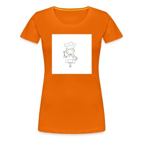 Maglietta 1 - Maglietta Premium da donna