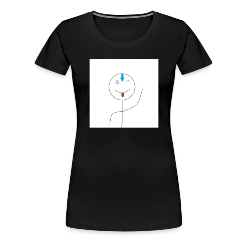 avatar stick man cover 6/6s - Dame premium T-shirt