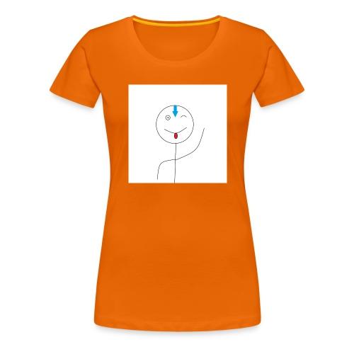 avatar stick man cover 6/6s - Dame premium T-shirt