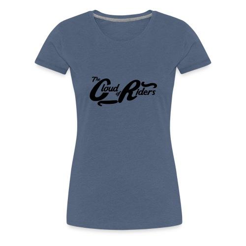 Logo t shirt black png - T-shirt Premium Femme