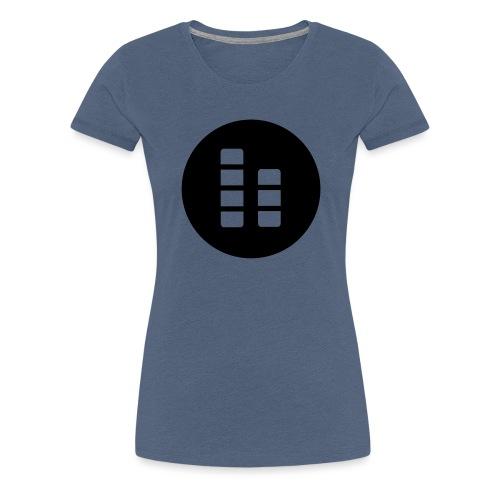 ctylight icon bild rund - Frauen Premium T-Shirt