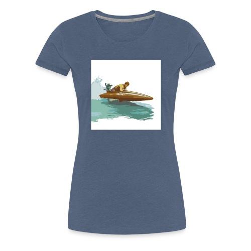 Stock Outboard Class A B Racer ohne Text - Frauen Premium T-Shirt