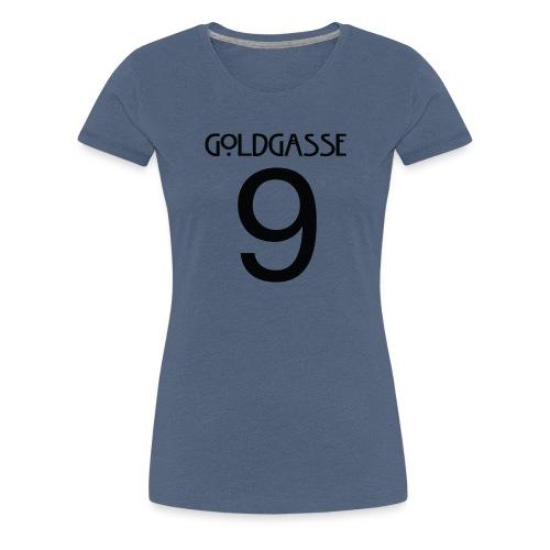Goldgasse 9 - Back - Women's Premium T-Shirt