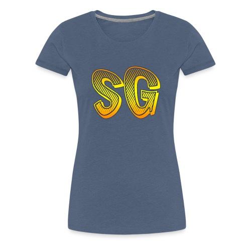 SG Donna - Maglietta Premium da donna