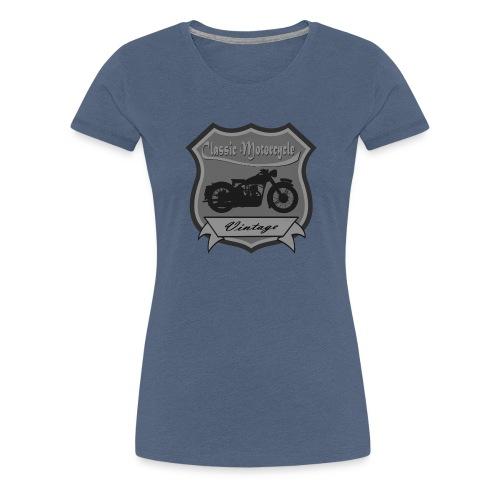 Classic Motorbike - Women's Premium T-Shirt