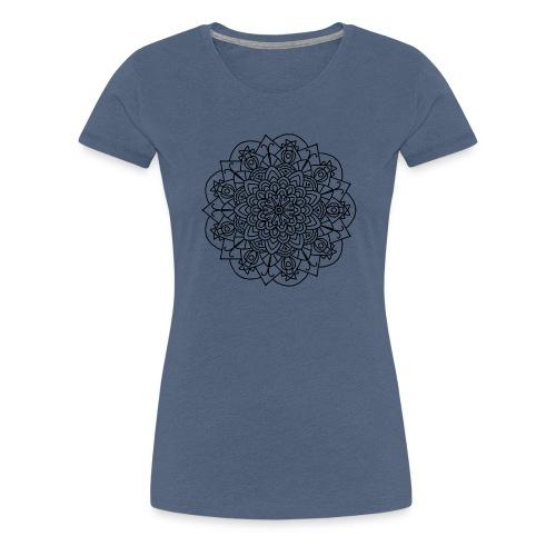 Beetle Mandala - Women's Premium T-Shirt