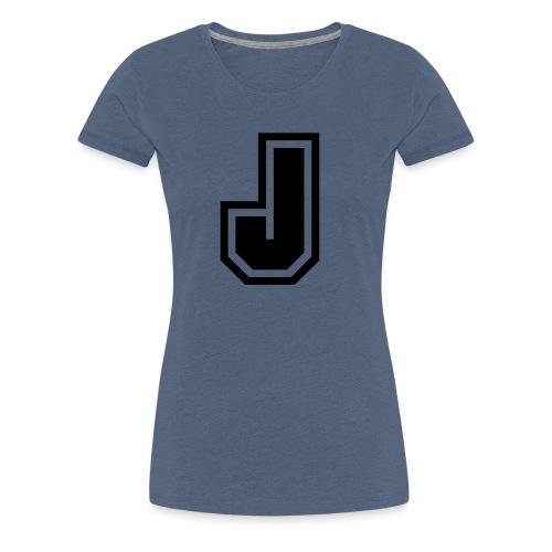 J black png - T-shirt Premium Femme
