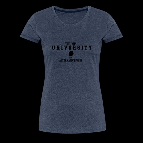 trump university - Frauen Premium T-Shirt