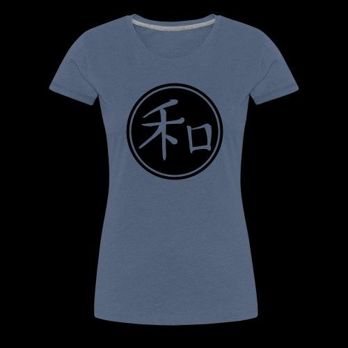 Peace - chinese sign - Frauen Premium T-Shirt