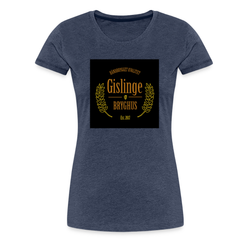Sort logo 2017 - Dame premium T-shirt