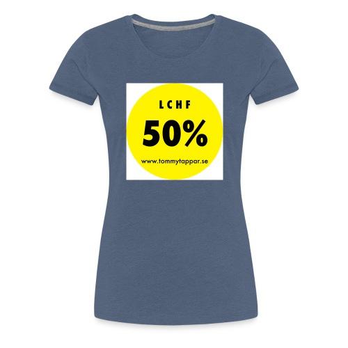 knapp 50 3 - Premium-T-shirt dam