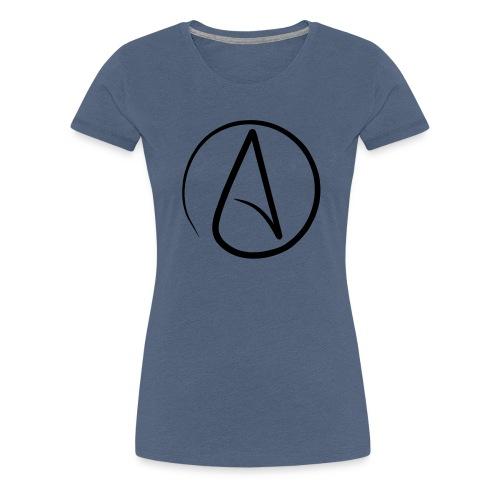 Atheist A - Frauen Premium T-Shirt