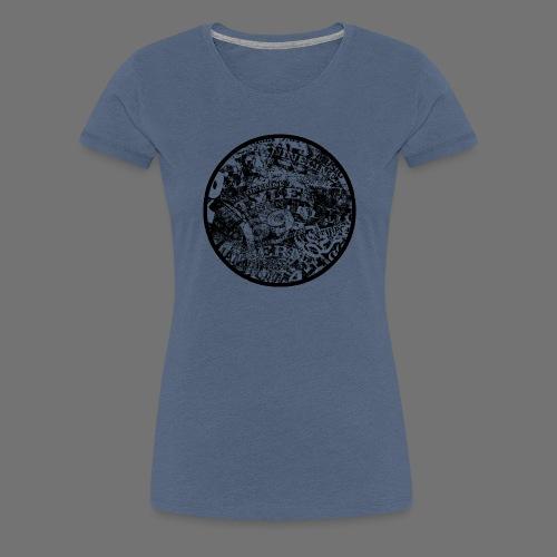 Urban Style black 1C - Frauen Premium T-Shirt